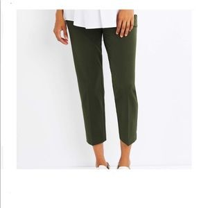 A Pea In The Pod Secret Twill Slim Ankle Pant XS